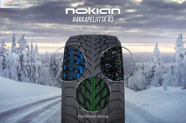 Nokian Hakkapeliitta R3 ASG
