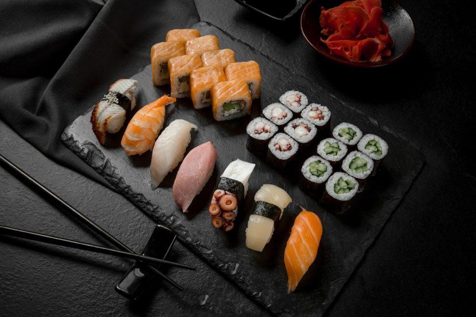Суши и ролы в заведениях японской кухни в Киеве