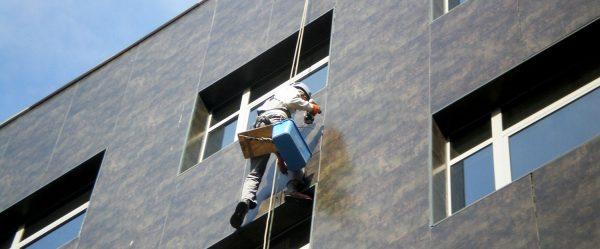 Что выбрать для фасадных работ - стремянки или люльки