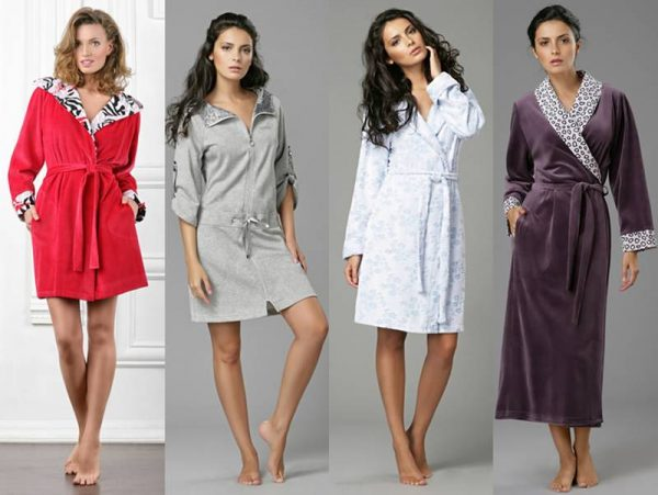 женские халаты фото