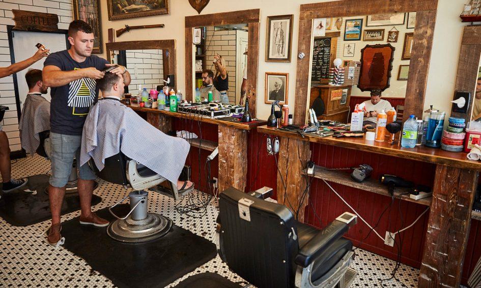 Hastings Barbershop, Торонто. //www.hastingsbarbershop.com